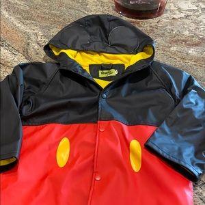 Mickey raincoat size 6 NWOT